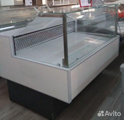 Холодильная витрина Криспи Gamma Quadro 1.8 м б/у 89290400536 купить 1