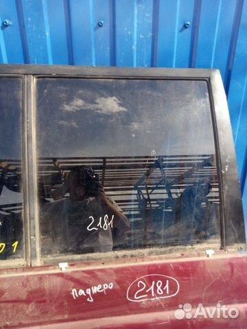 89657347629  Стекло задней правой двери (Mitsubishi Pajero)