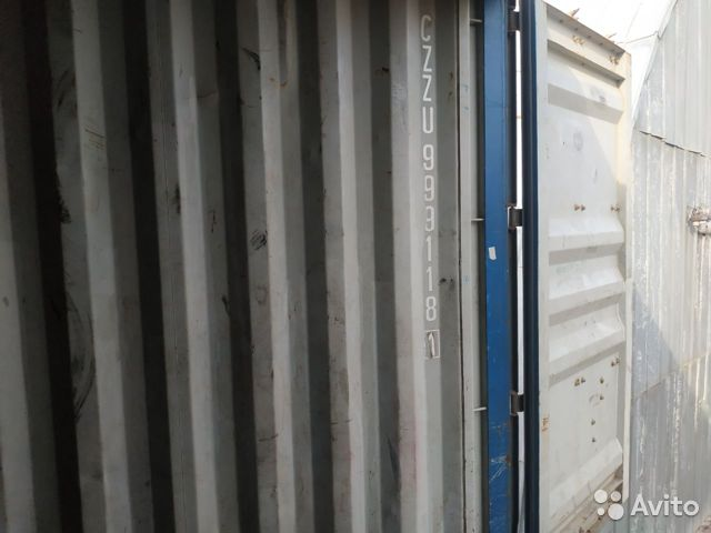 Контейнер 40 футов из Барнаула №czzu9991181