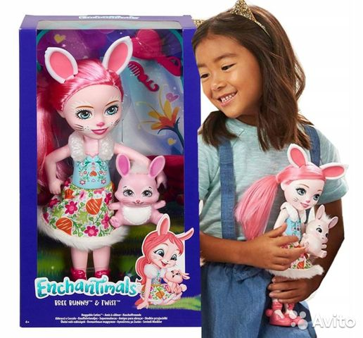 Enchantimals большая Кукла 31см в ассорт  89062132153 купить 1