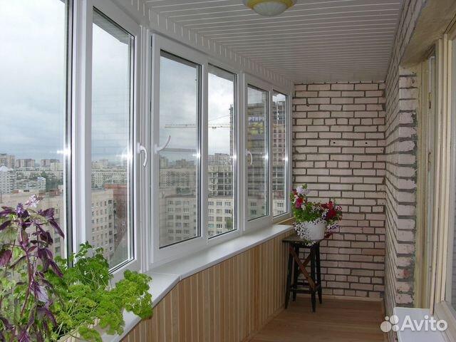Остекление балконов, лоджии 89874915331 купить 7
