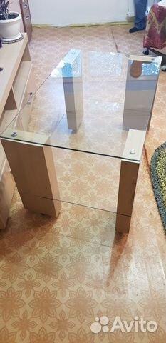 Coffee table (glass)