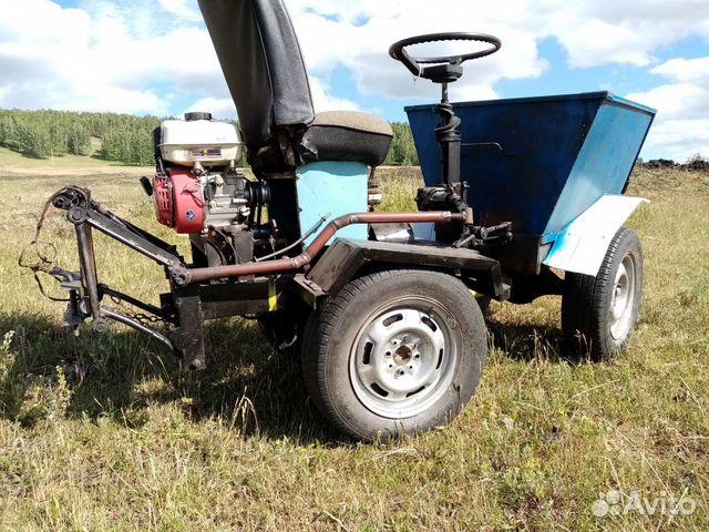 Самодельный трактор купить 3