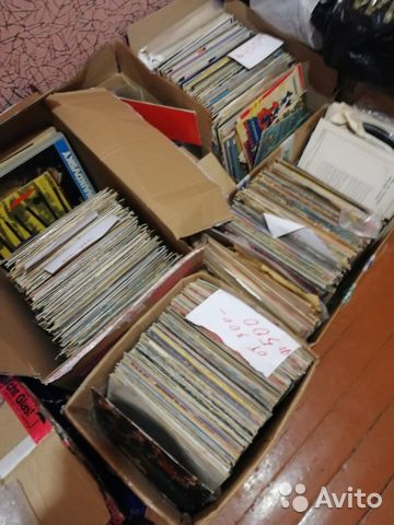Большая Коллекция виниловых пластинок (более 1000) 89107618872 купить 7
