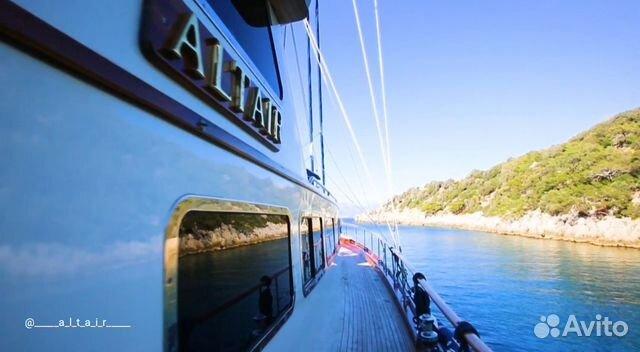 Гулет-Яхта Алтаир 89326664495 купить 3