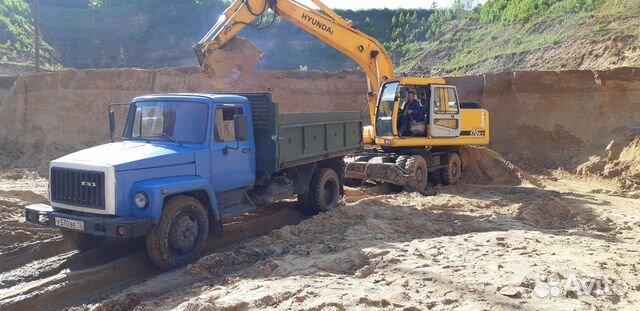 Навоз, Пгс, песок речной, карьерный. 5 тонн