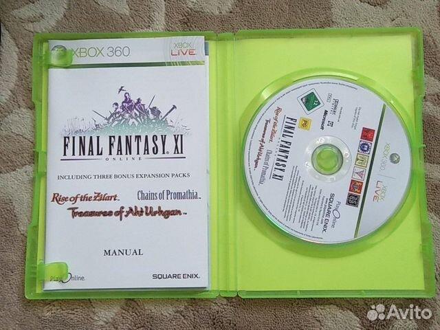 Final Fantasy XI Online для xbox 360  89028143516 купить 2