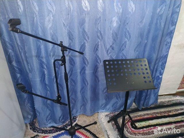Стойки для микрофона и пульта  89135831780 купить 2