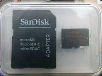 Sandisk Ultra Plus 128GB microsdxc UHS-I, новая