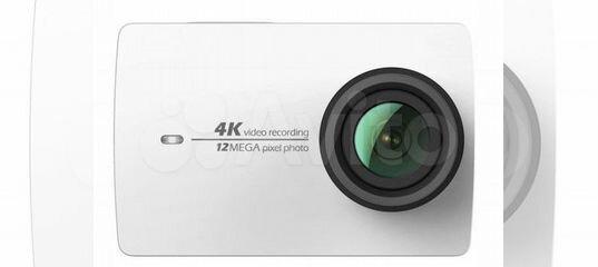 Экшн-камера Новая Xiaomi Yi 4k Action Camera купить в Самарской области | Бытовая электроника | Авито
