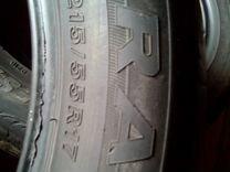 Две летние шины 215/55 R-17