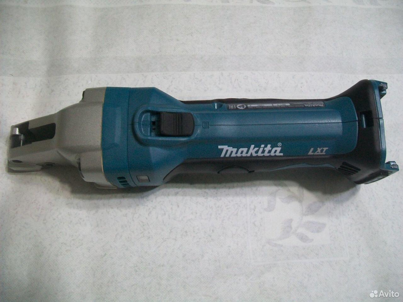 Аккумуляторные шлицевые ножницы по металлу Makita  89048637173 купить 1