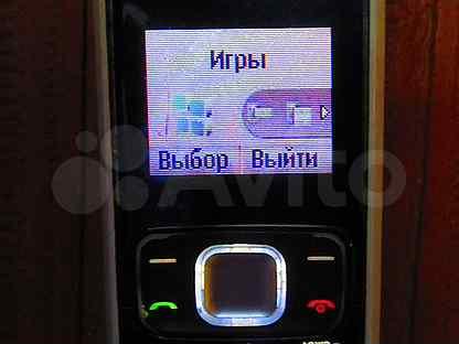 Телефон Nokia 1209 рабочий