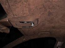 Алькантара самоклеющаяся коричневая