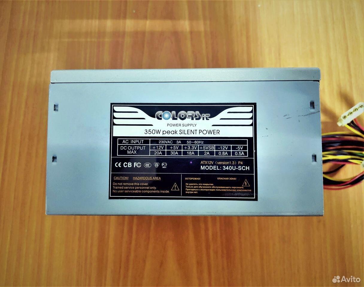 Блок питания 350W colorsit 350U-SCH 89538085333 купить 1