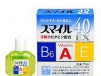 """Капли для глаз """"Супер витамины"""" 40 ех Япония"""