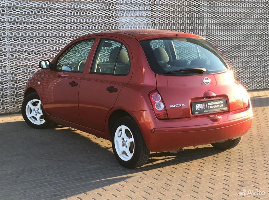 Nissan Micra, 2006  88633330423 купить 7