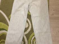 Фирменные льняные брюки р.34
