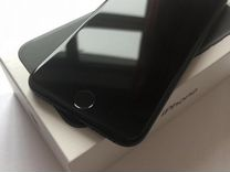 iPhone 7 32gb black matte с комплектом полным