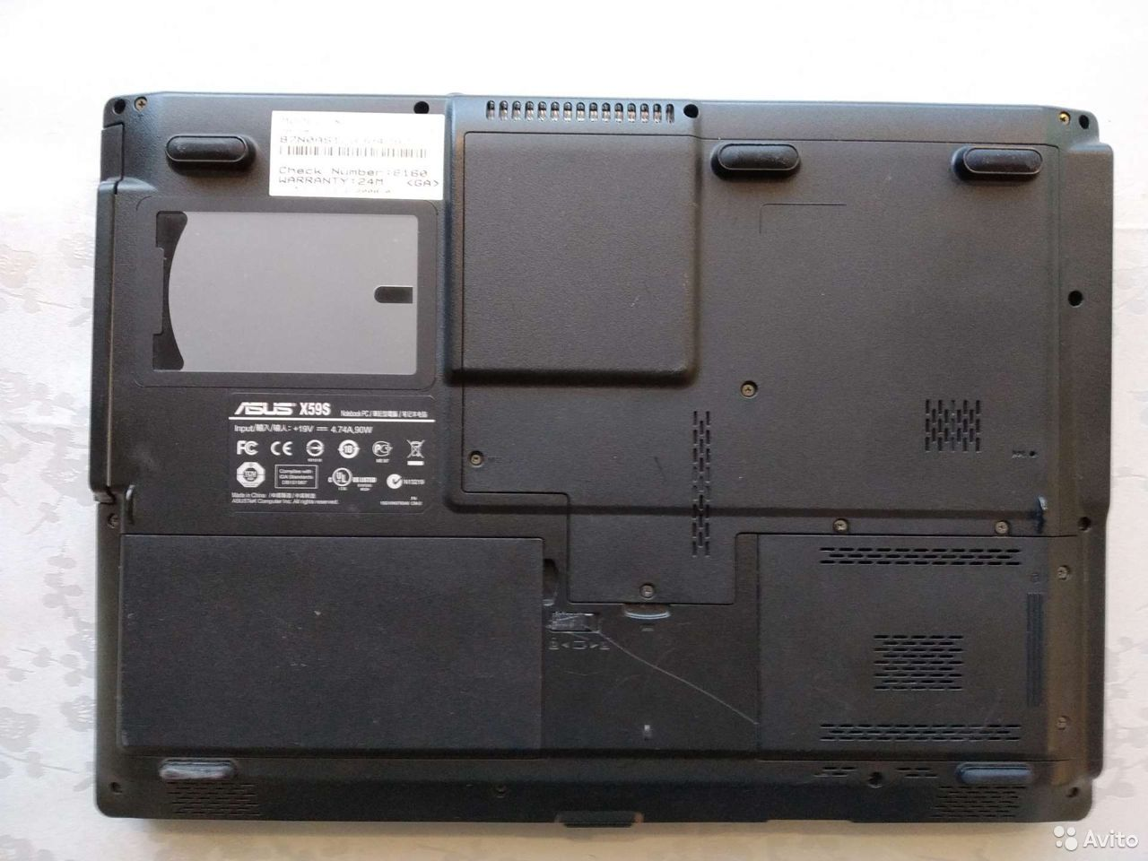 Ноутбук Asus x59sl  89243991978 купить 2