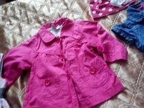 Пакет одежды на девочку 86-92 см