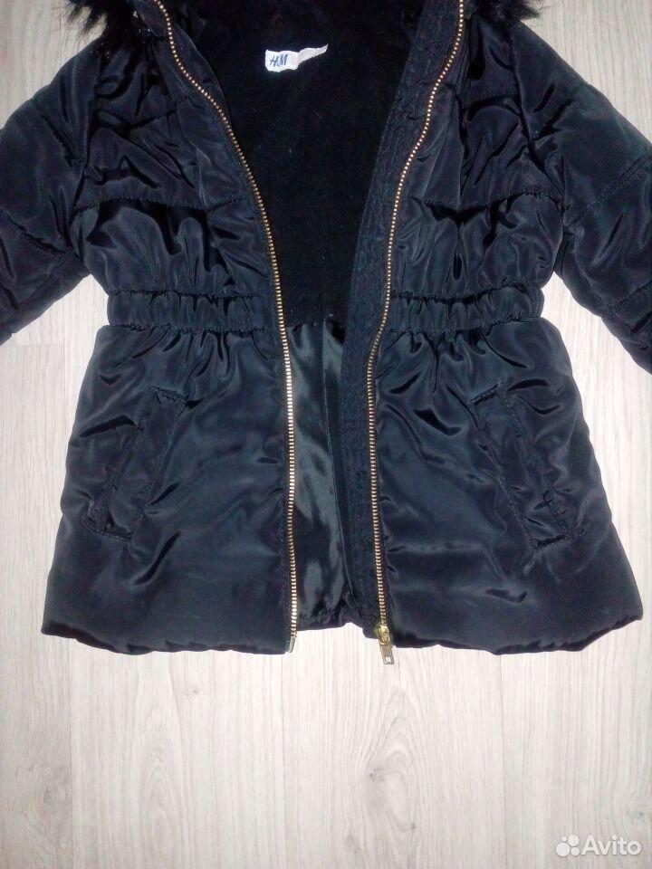 Куртка H&M холодный деми 104 и 110 р-р  89528067023 купить 4