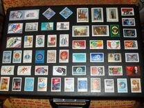 Мл и 200 чистых марок СССР и России на 4-х фото