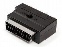 Переходник ATcom AT1010 (scart to 3RCA+svhs)