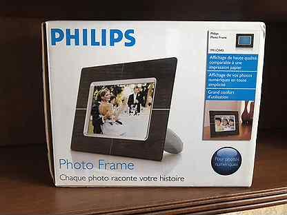 Новая фоторамка Philips 77fficwo в комплекте