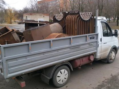 Вывоз металлолома с дач, гаражей, квартир
