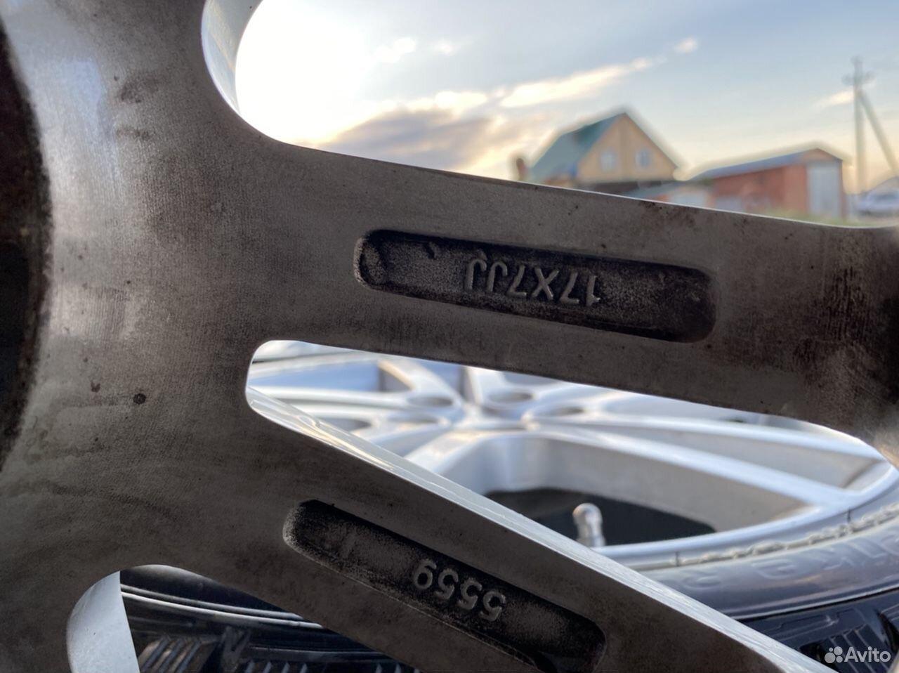 Комплект новых зимних колес на Subaru Sti  89956815638 купить 4