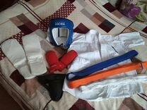 Кимоно,шлем,защита