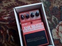 Компрессор для Бас гитары digitech XBS bass squeez