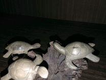 Морские черепашки,дерево