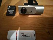 Флешка 8gb+камера — Товары для компьютера в Омске