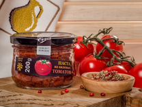 Брускетта из вяленых томатов
