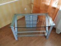 Продам стеклянную тумбу / подставку под телевизор — Мебель и интерьер в Самаре