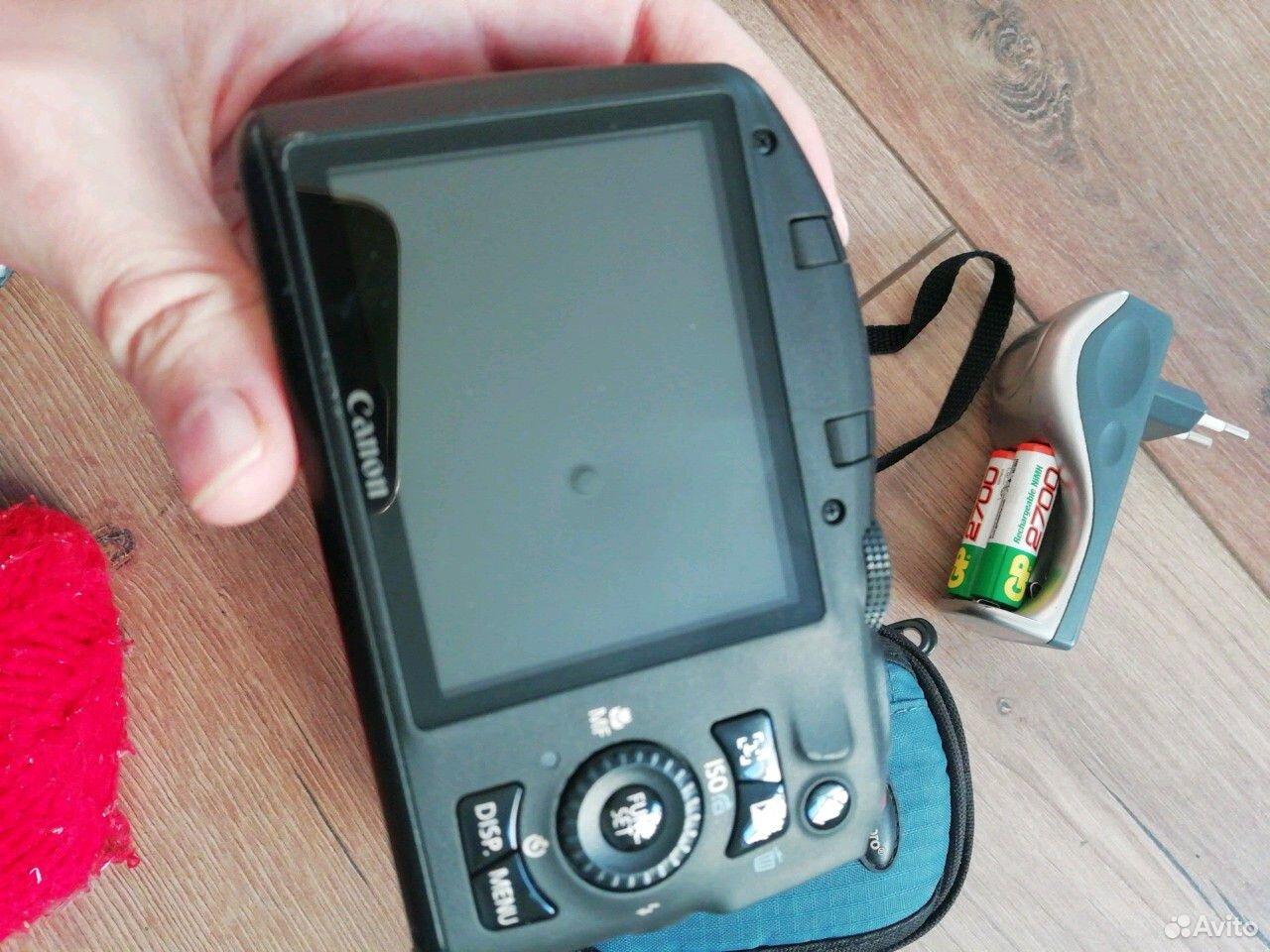 Фотоаппарат Canon+аккумы+зарядка+чехол  89185481344 купить 2