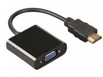 Конвертер hdmi to VGA Adapter новый