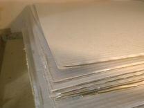 Листовой гофрокартон белый