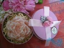 Букеты и подарочное мыло ручной работы для женщин