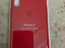Чехол Apple на iPhone X