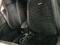 Накидки на сидения из велюра чёрные
