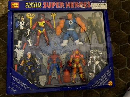 Toy Biz Marvel super heroes набор 8 фигурок 1996 - Детские товары - Объявления в Марксе
