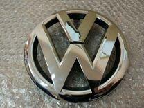 Эмблема VW передняя Пассат Б7 Гольф 6