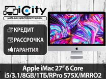 "Моноблок Apple iMac 27"" 6 Core mrro2"