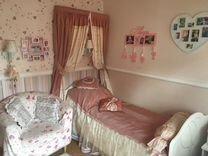 Кровать детская(белая) + матрац