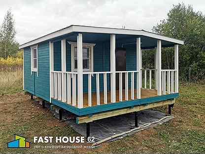 Модульный дачный дом 6х4,8м