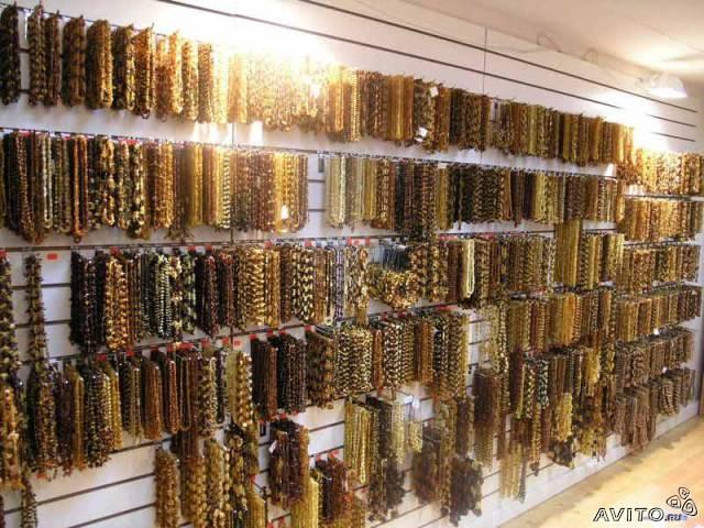 Оптовая продажа украшений и сувениров из Калиниградского янтаря в Москве